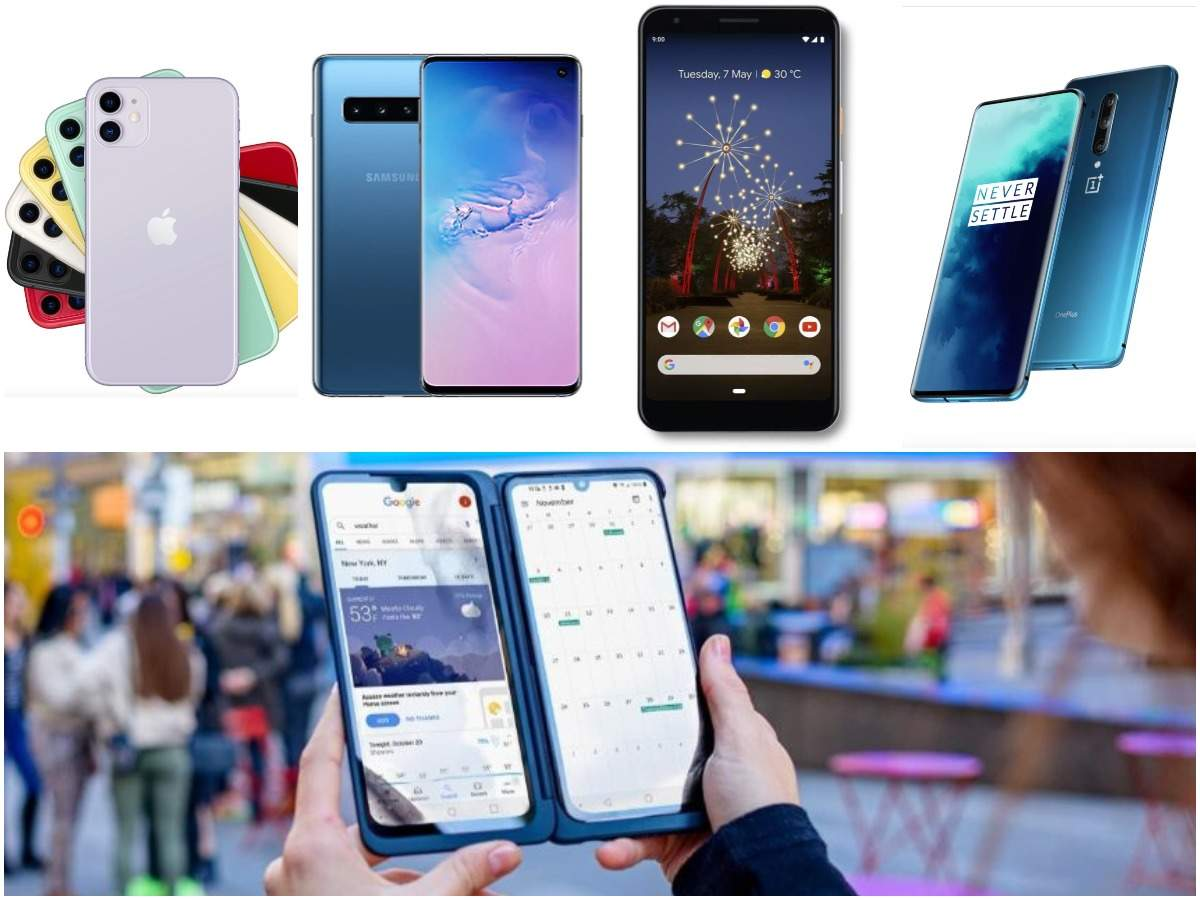 LG launches smartphone with 2 screens: How it compares to OnePlus 7T Pro, iPhone 11, Google Pixel 3a XL and Samsung Galaxy S10