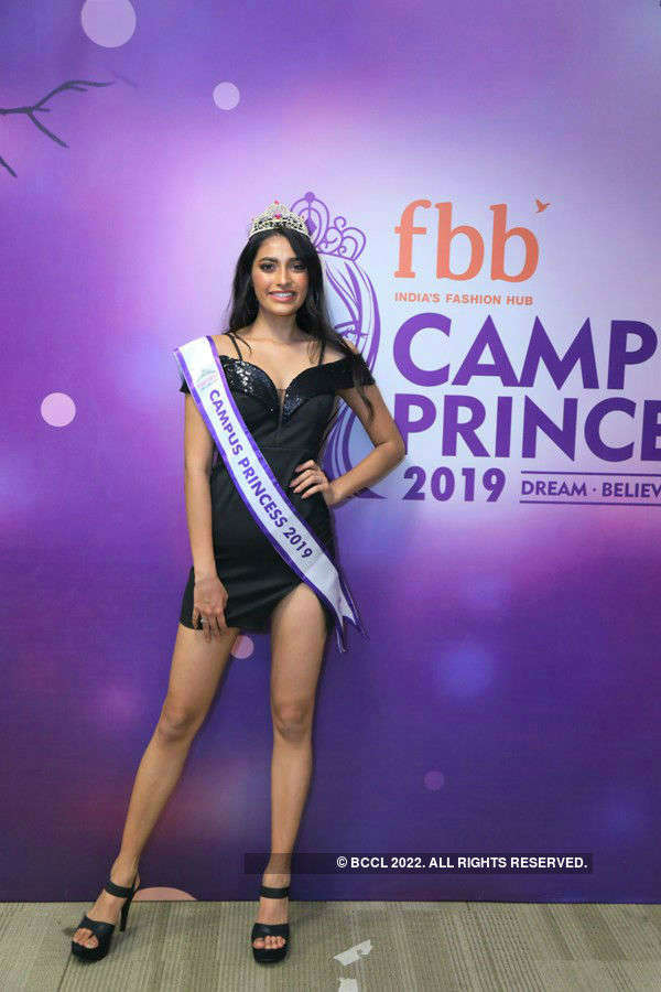 Shreya Poonja crowned fbb Campus Princess 2019