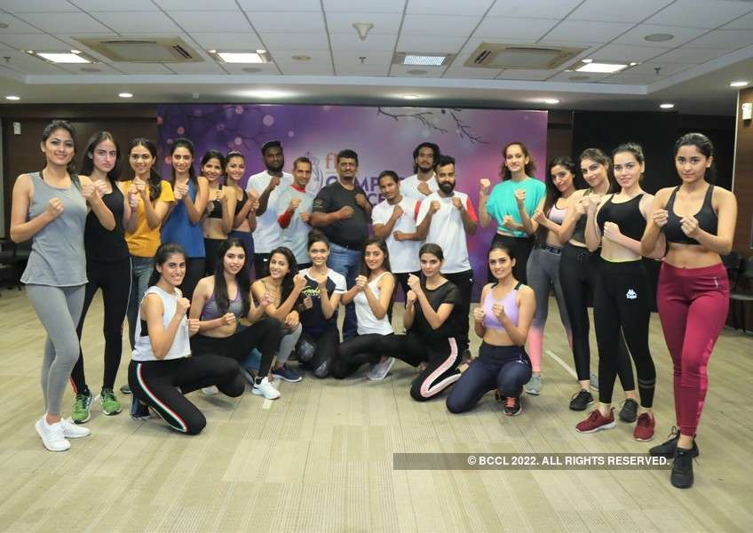 fbb Campus Princess 2019: Mixed Martial Arts by Hemal Shah