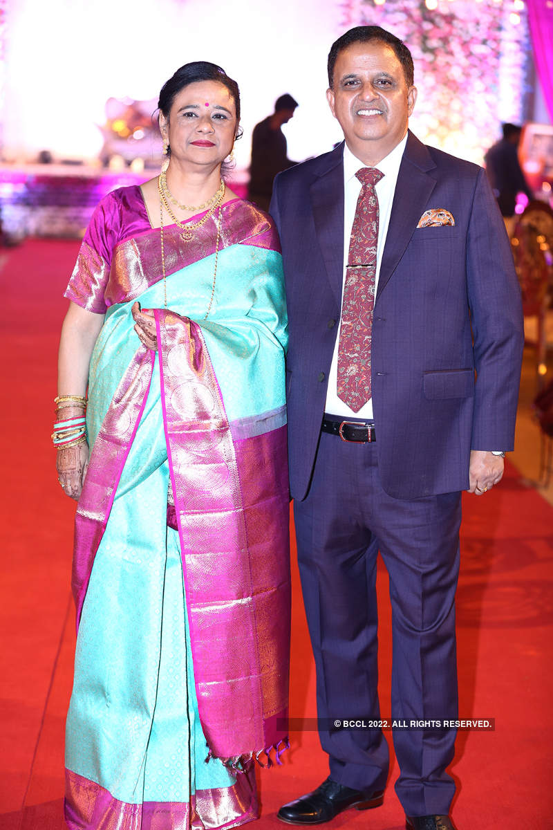 Kumar Keshav hosts wedding reception for his son and daughter-in-law