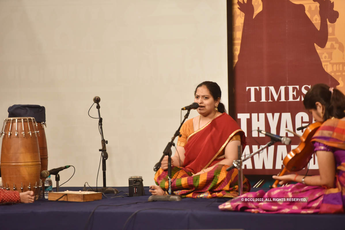 All that Margazhi music in the air at Times Thyagaraja Awards