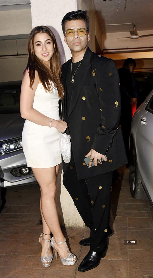 Inside pictures: Ranbir, Alia, Sara, Karan Johar and other B'wood stars have fun at Kareena Kapoor's Christmas party