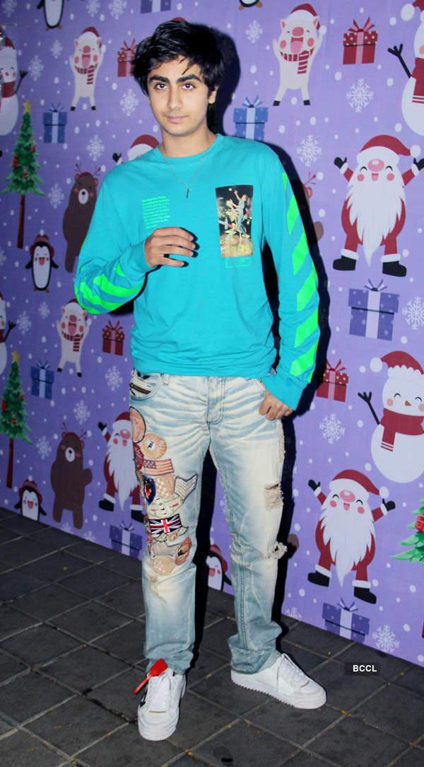 Salman Khan, Karan Johar, Riteish Deshmukh, Ekta Kapoor & others attend Arpita Khan's Christmas party, see pics...