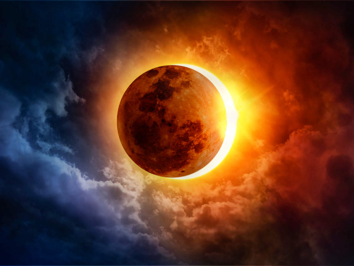 Surya Grahan Today / Annular Solar Eclipse 2020 June
