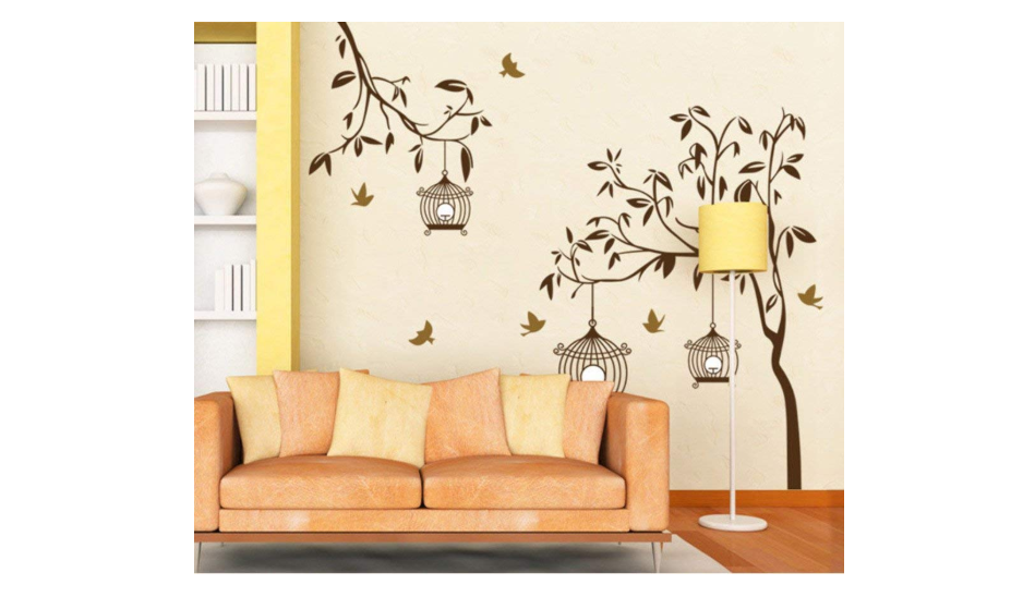 Wall Sticker: DIY wall art ideas for your home