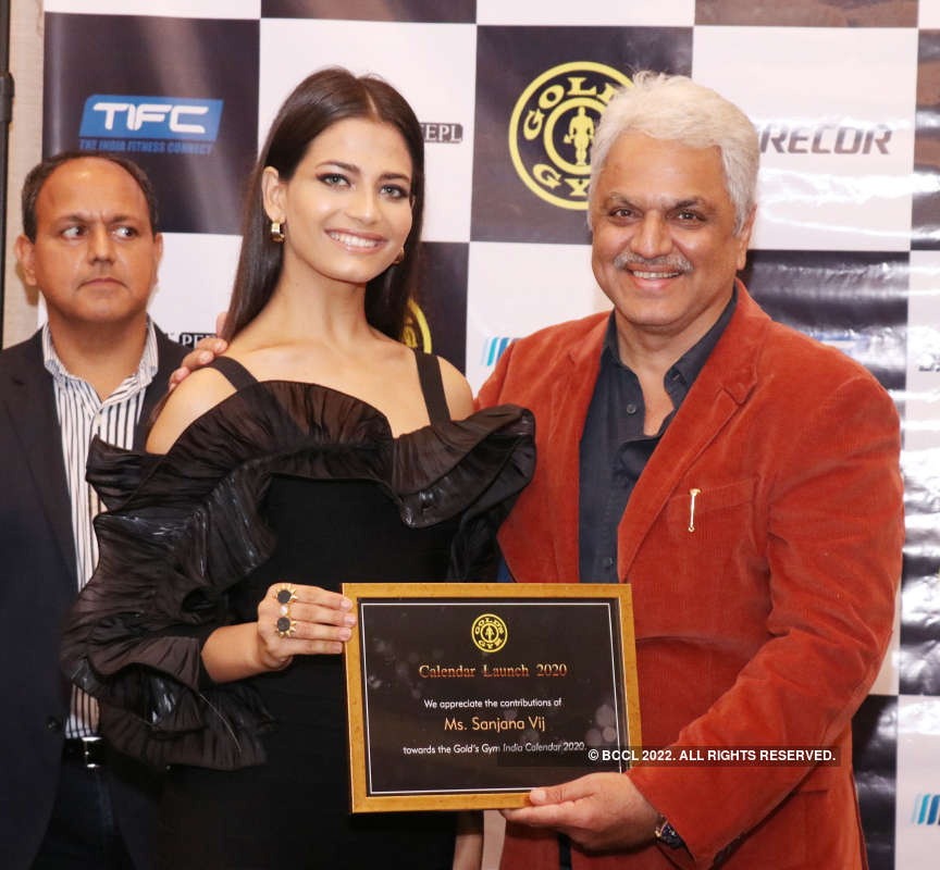 Sanjana Vij and Shivani Jadhav launch 2020 calendar of a popular gym