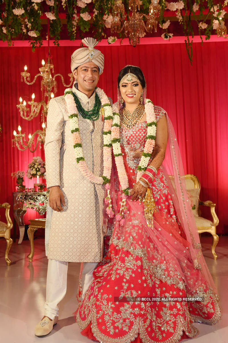 Akhil Khushlani and Niharika Keerthi's big fat Indian wedding
