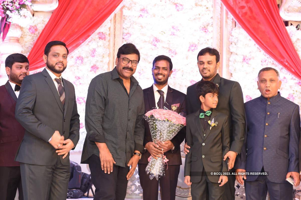 Tollywood celebs glam up Syed Javed Ali and Sadiya Waheed's wedding reception