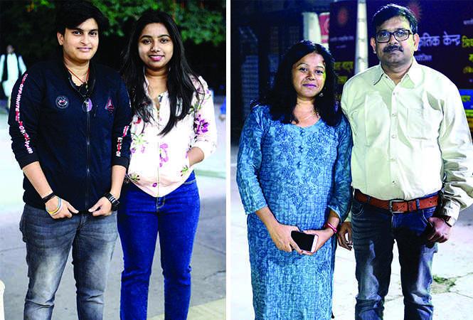 (L) Priyanka and Anjali (R) Anita and Basant (BCCL/ Pankaj Singh)