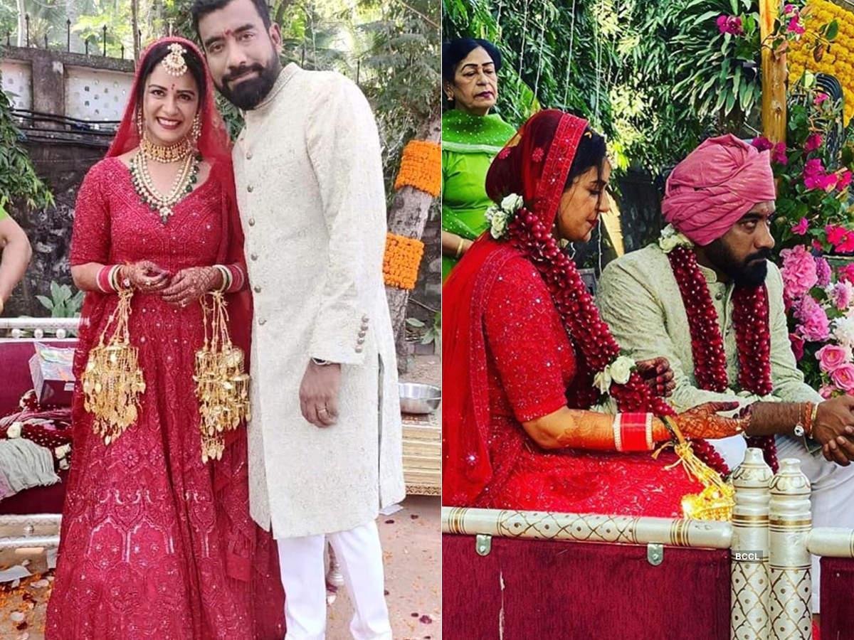 Mesmerising wedding pictures of Mona Singh and investment banker husband Shyam Rajgopalan