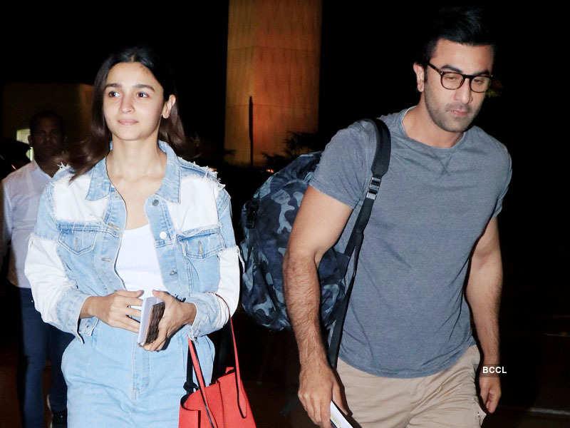 Bollywood couple Alia Bhatt and Ranbir Kapoor fly to Bangkok for New Year celebrations