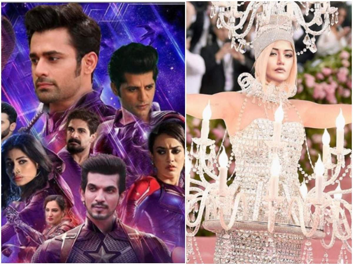 Best memes of 2019: Naagin actors' Avengers inspired poster to Surbhi Chandna impersonating Katy Perry's Met Gala look  | The Times of India