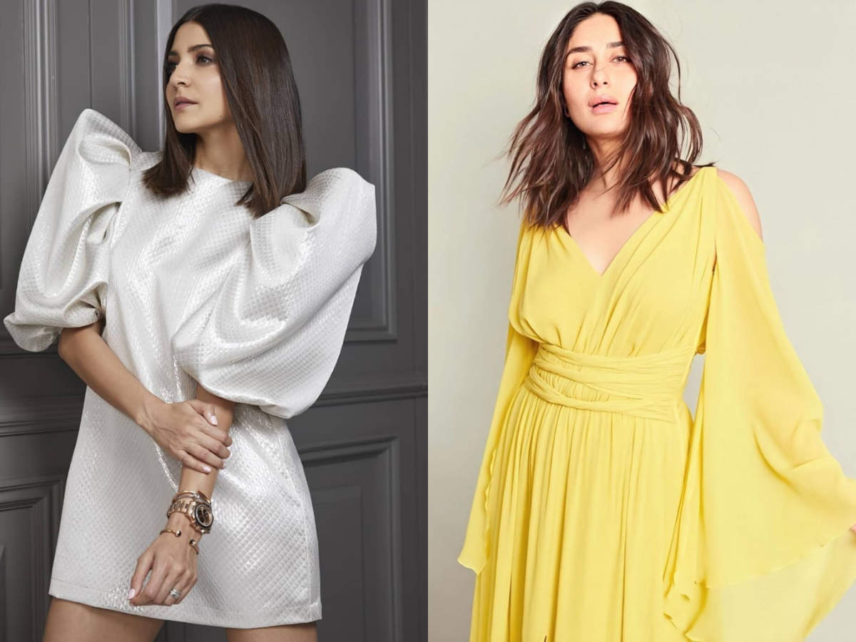 Anushka Sharma S One Length To Kareena Kapoor Khan S Medium Length Top Trendy Haircuts For 2020 The Times Of India