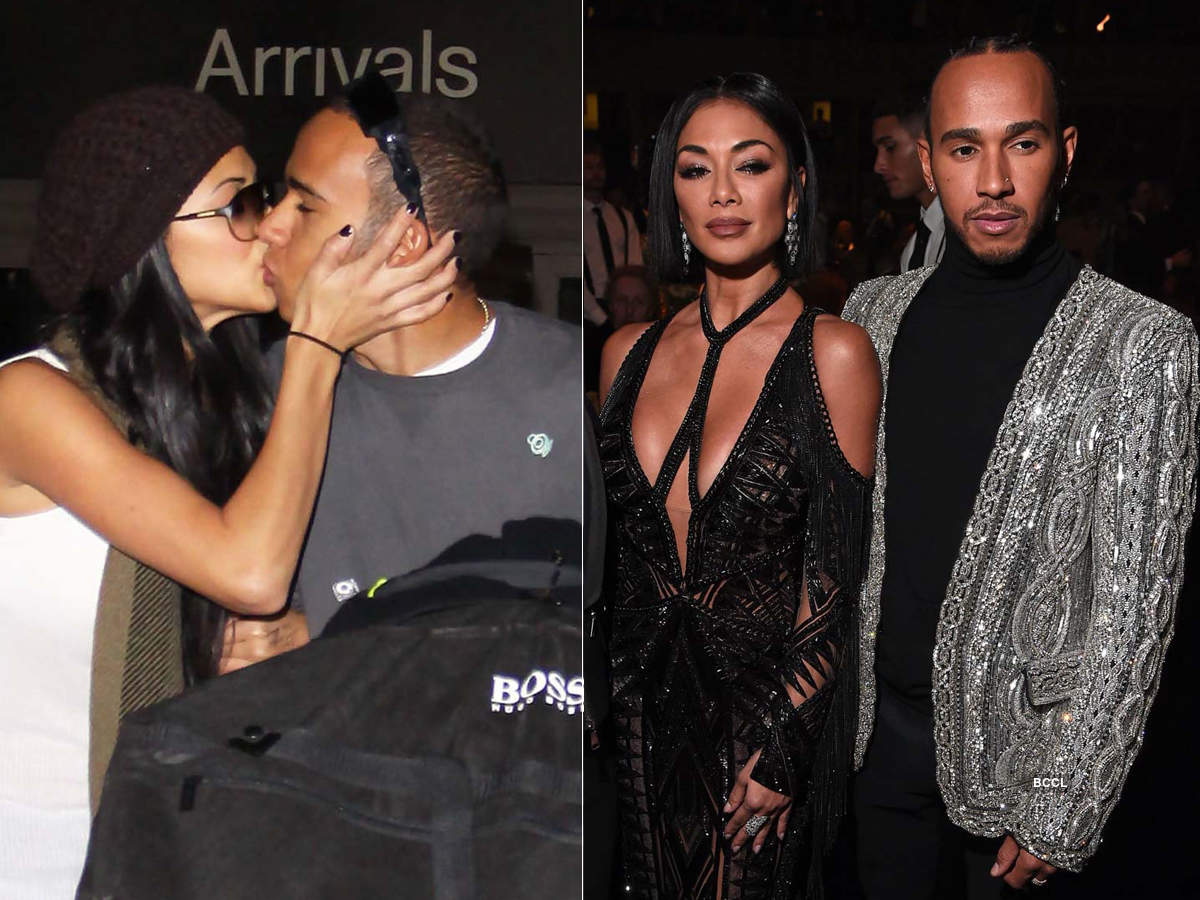 Rare and unseen pictures of F1 racer Lewis Hamilton with ex-girlfriend singer Nicole Scherzinger