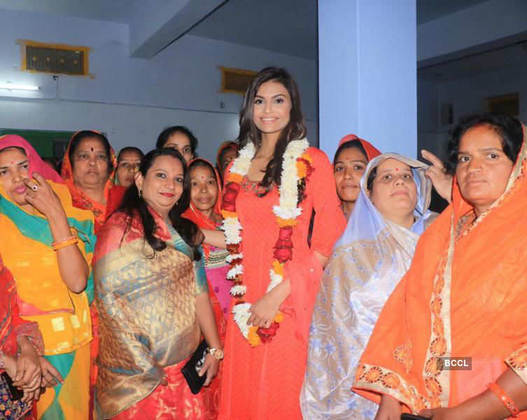 Suman Rao promotes her upcoming project