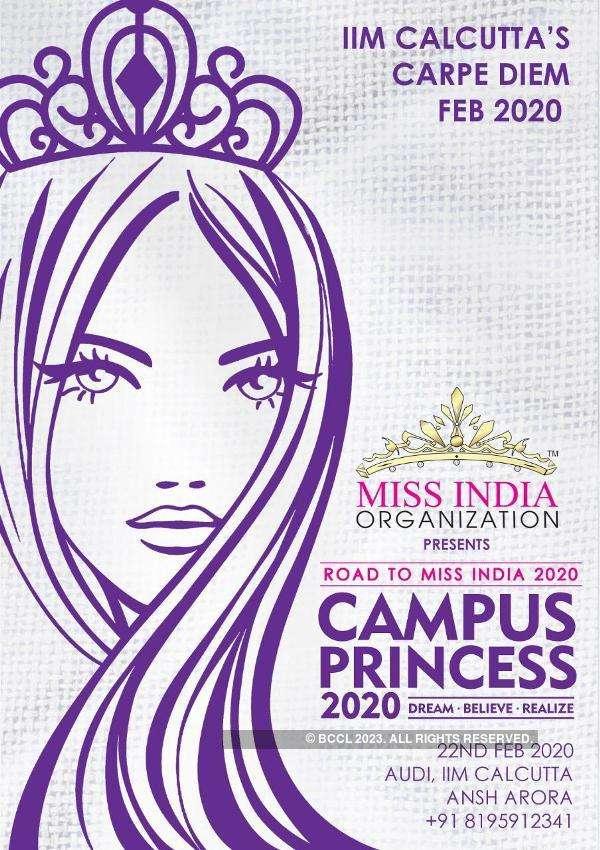 Campus Princess 2020 auditions at IIM Calcutta