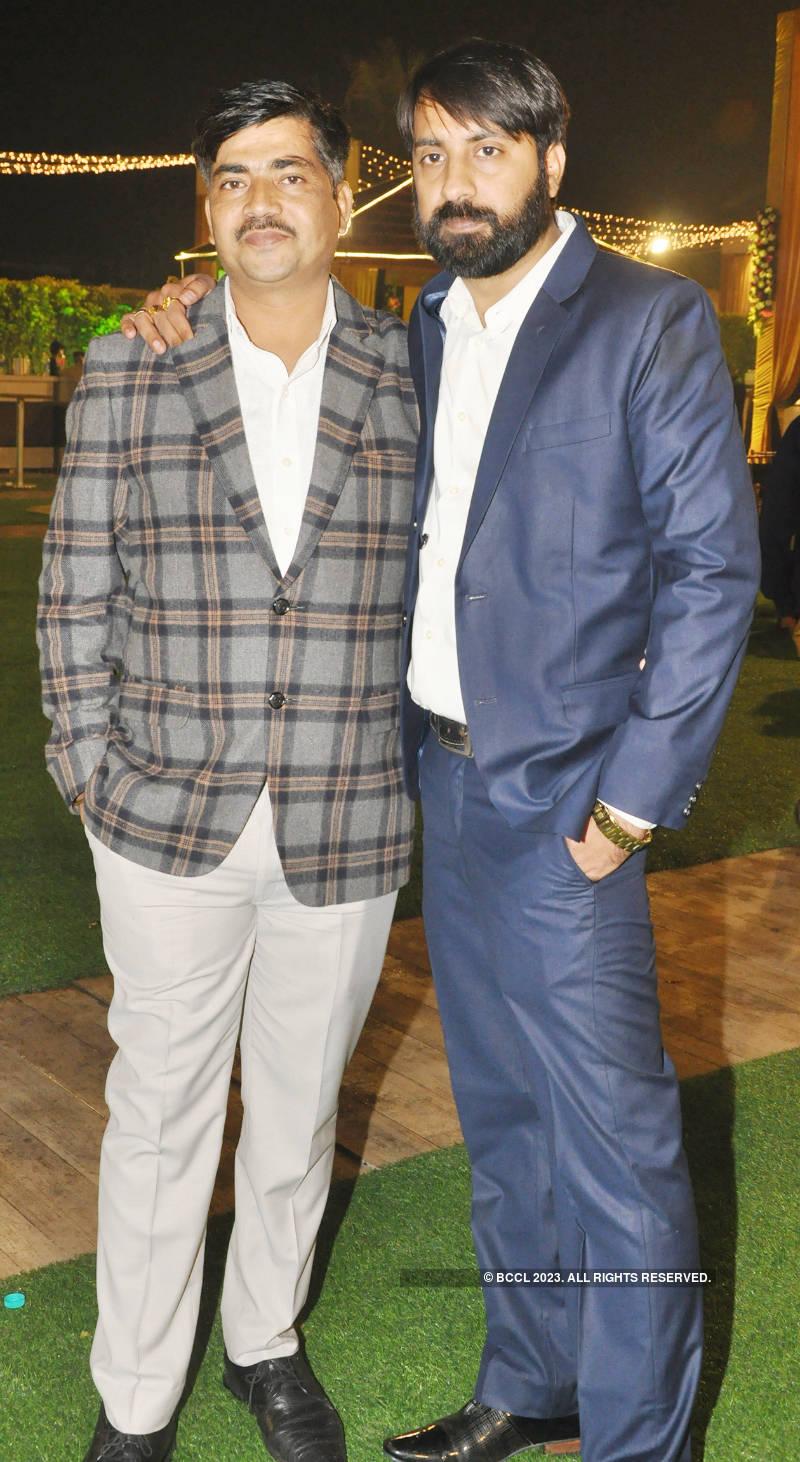 Harsh Nigam and Dalima Sharma's glittery wedding reception