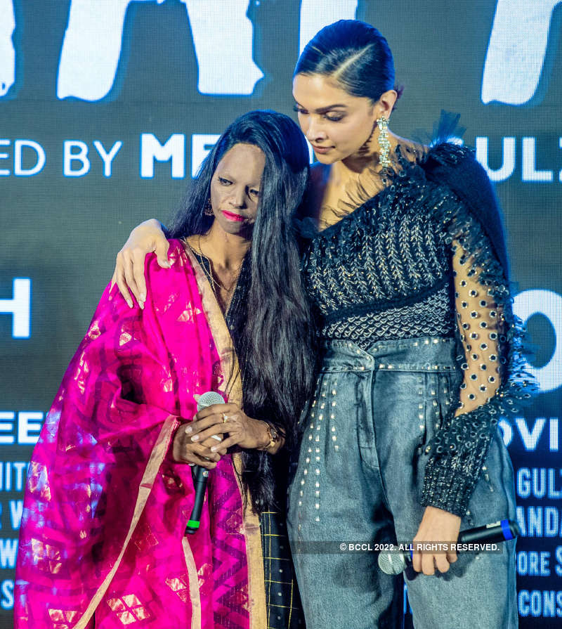 Emotional Deepika Padukone couldn't hold back her tears at 'Chhapaak' song launch