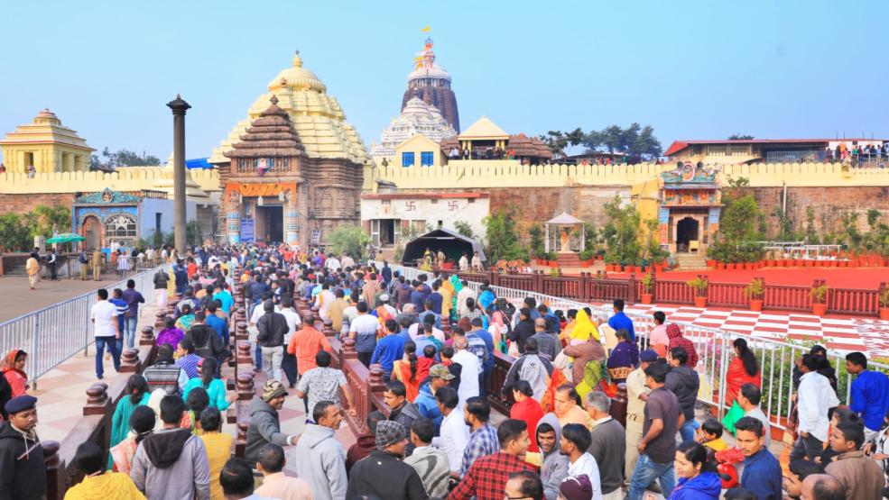 2020- celebration at Puri temple