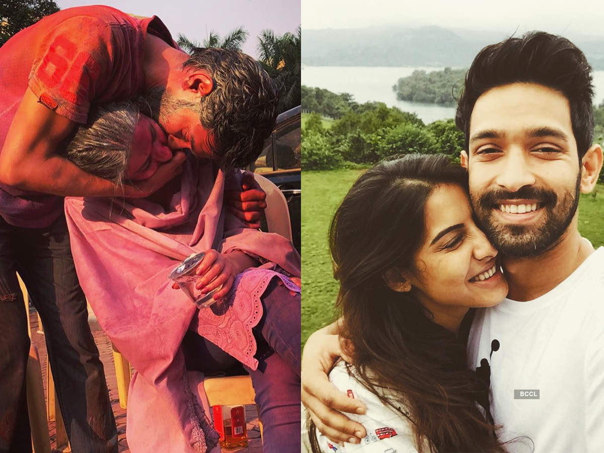 These pictures of Chhapaak actor Vikrant Massey with ladylove Sheetal Thakur are too cute to miss