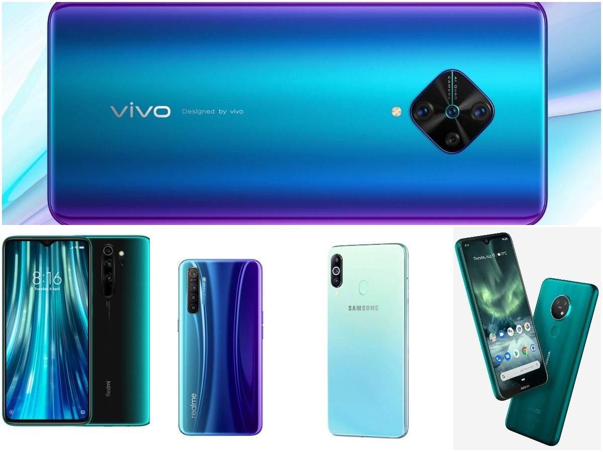 Best smartphone under Rs 20,000: Vivo S1 Pro vs Xiaomi Redmi Note 8 Pro vs Realme X2 vs Samsung Galaxy M40 vs Nokia 7.2