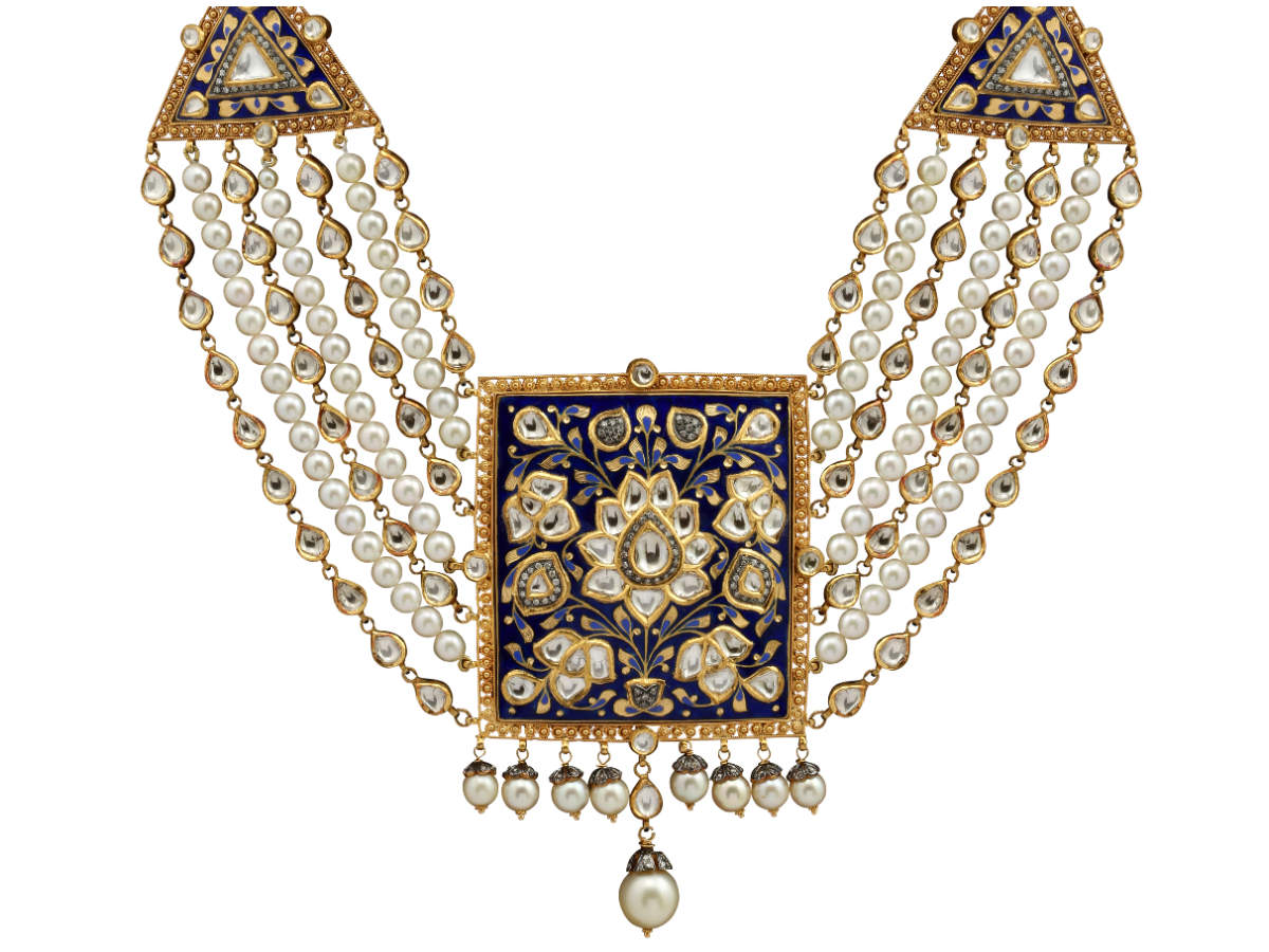 Neelvarna Necklace by Sunita Shekhawat