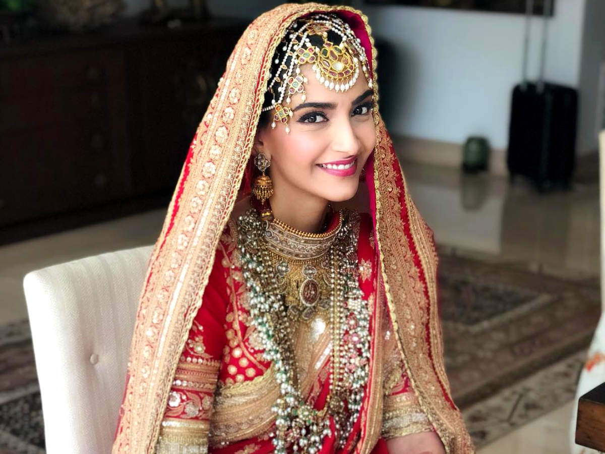 Sonam Kapoor wedding jewellery