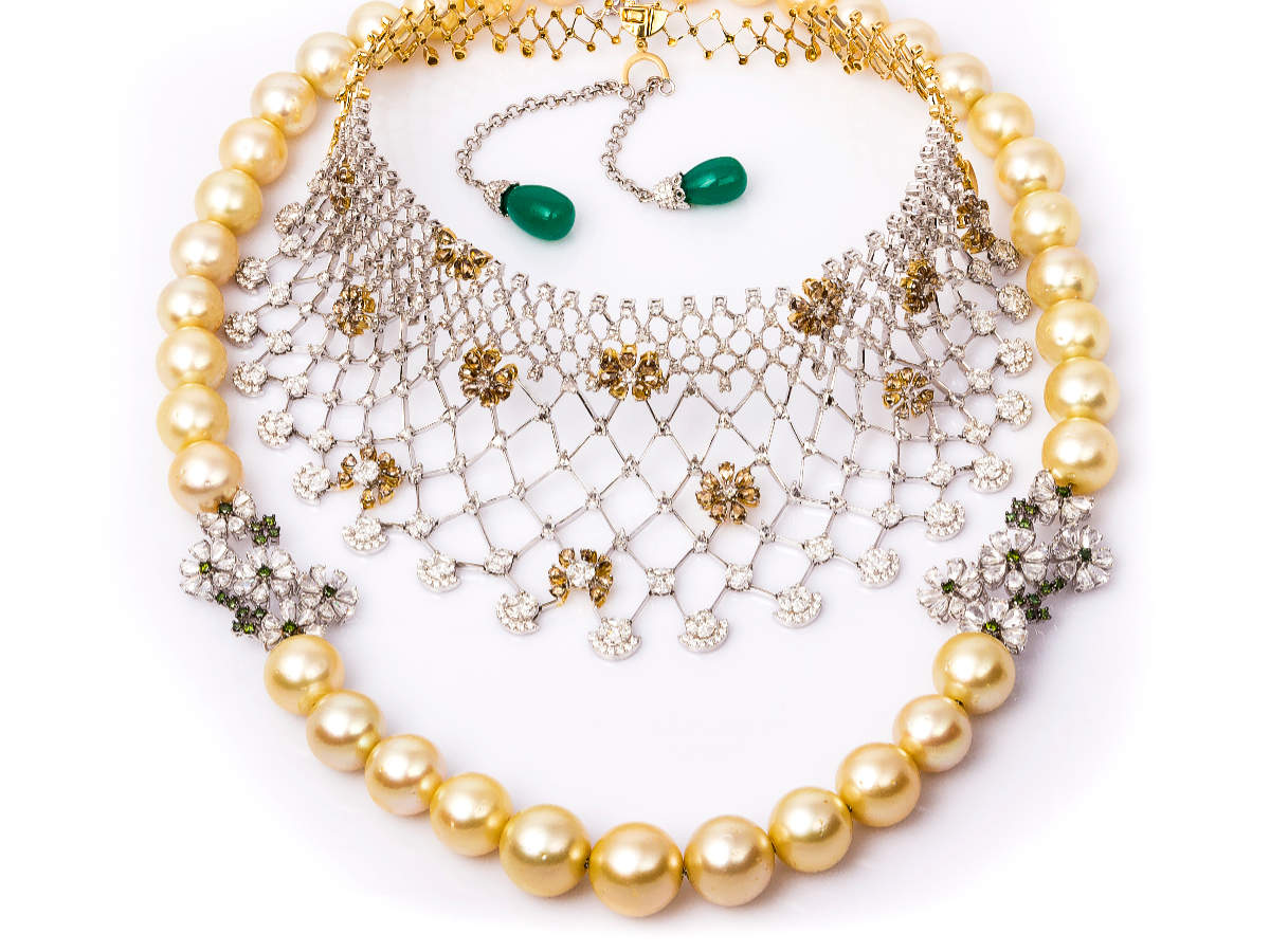 The Noor Moti Necklace from Irasva