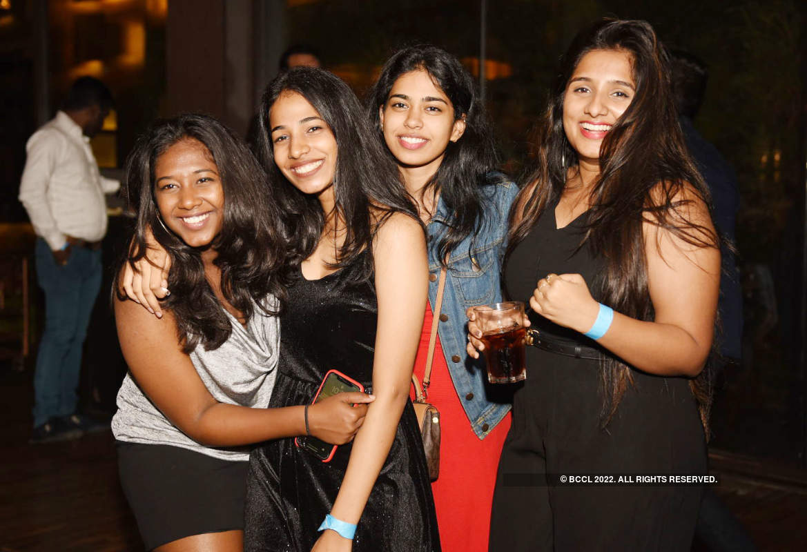 Hyderabadis partied all night as they rang in 2020
