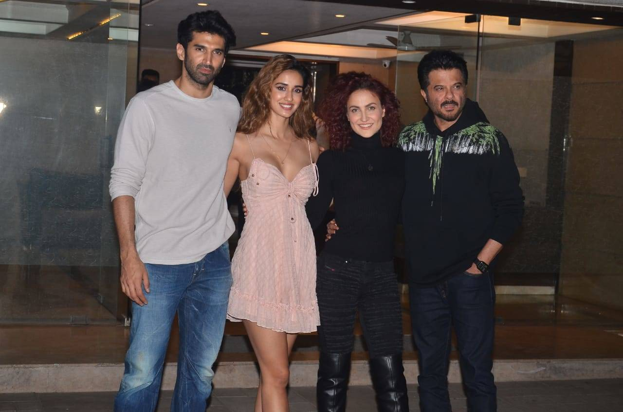 Malang Aditya Roy Kapur Disha Patani Anil Kapoor And Others Attend A Bash Hindi Movie News Times Of India