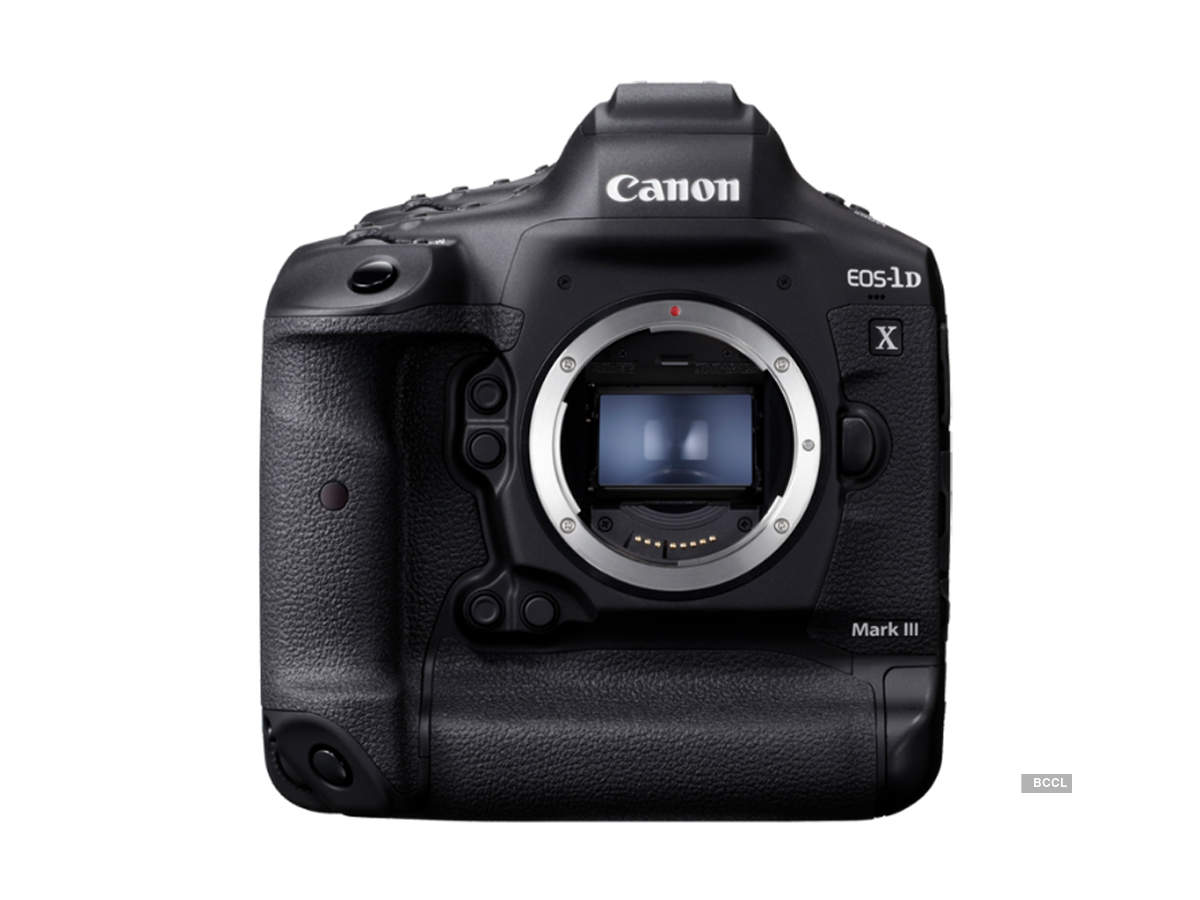 Canon launches EOS-1D X Mark III DSLR camera