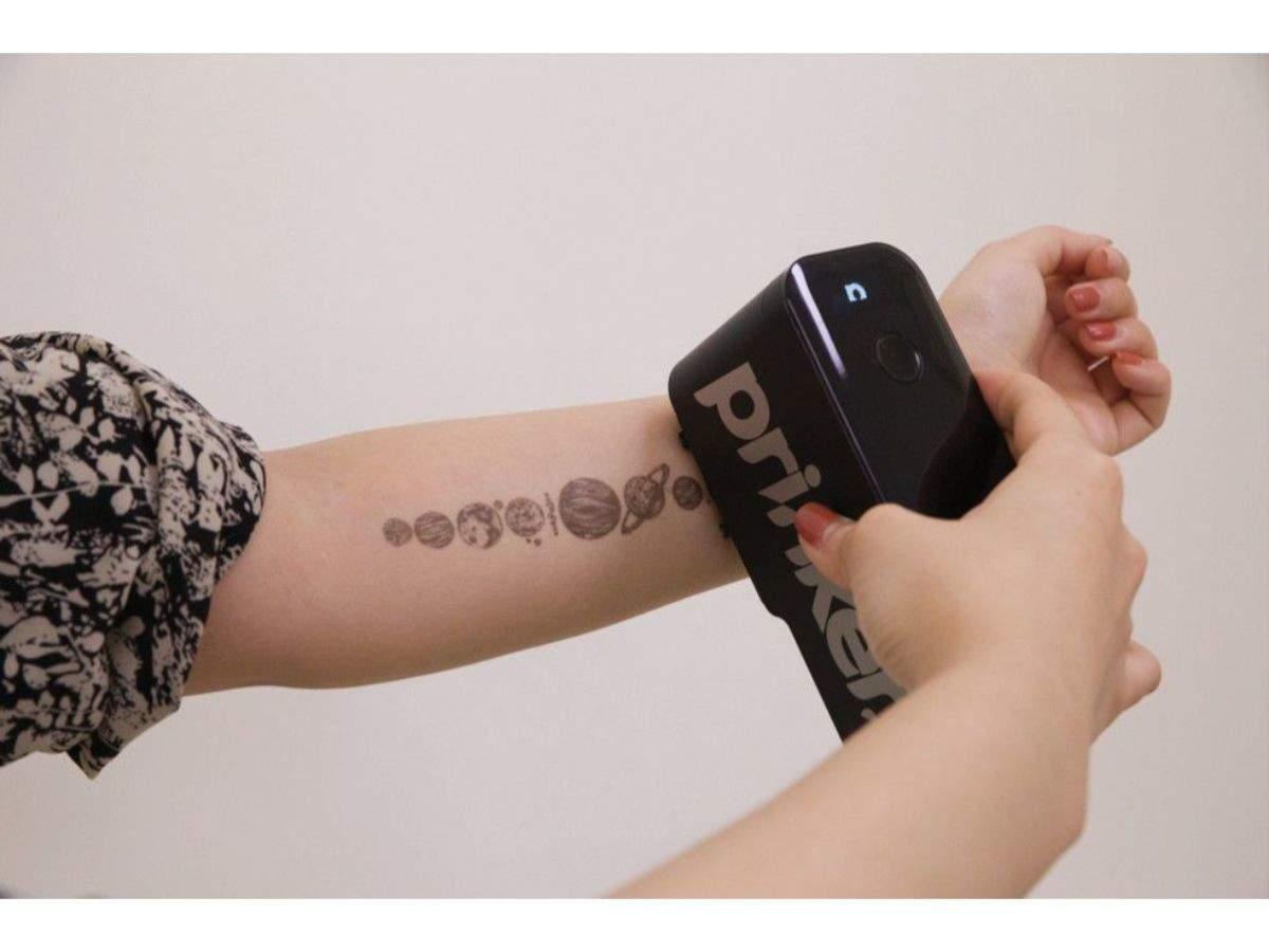 Prinker:  Temporary tattoo printer