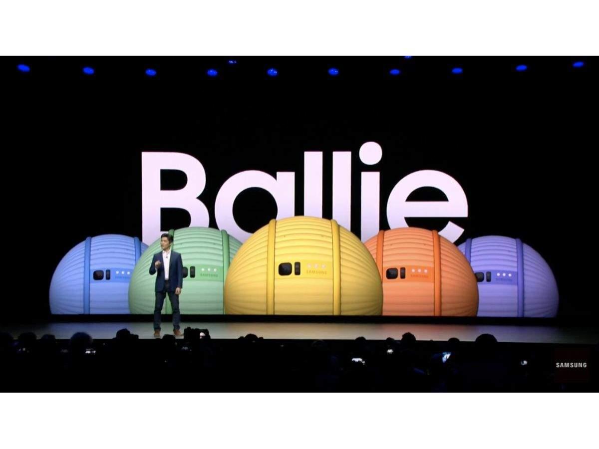 Ballie: Samsung's rolling bot