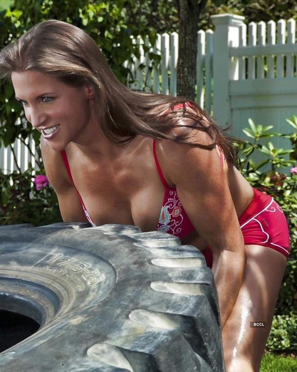 These stunning photos of WWE star Stephanie McMahon prove that age is just a number