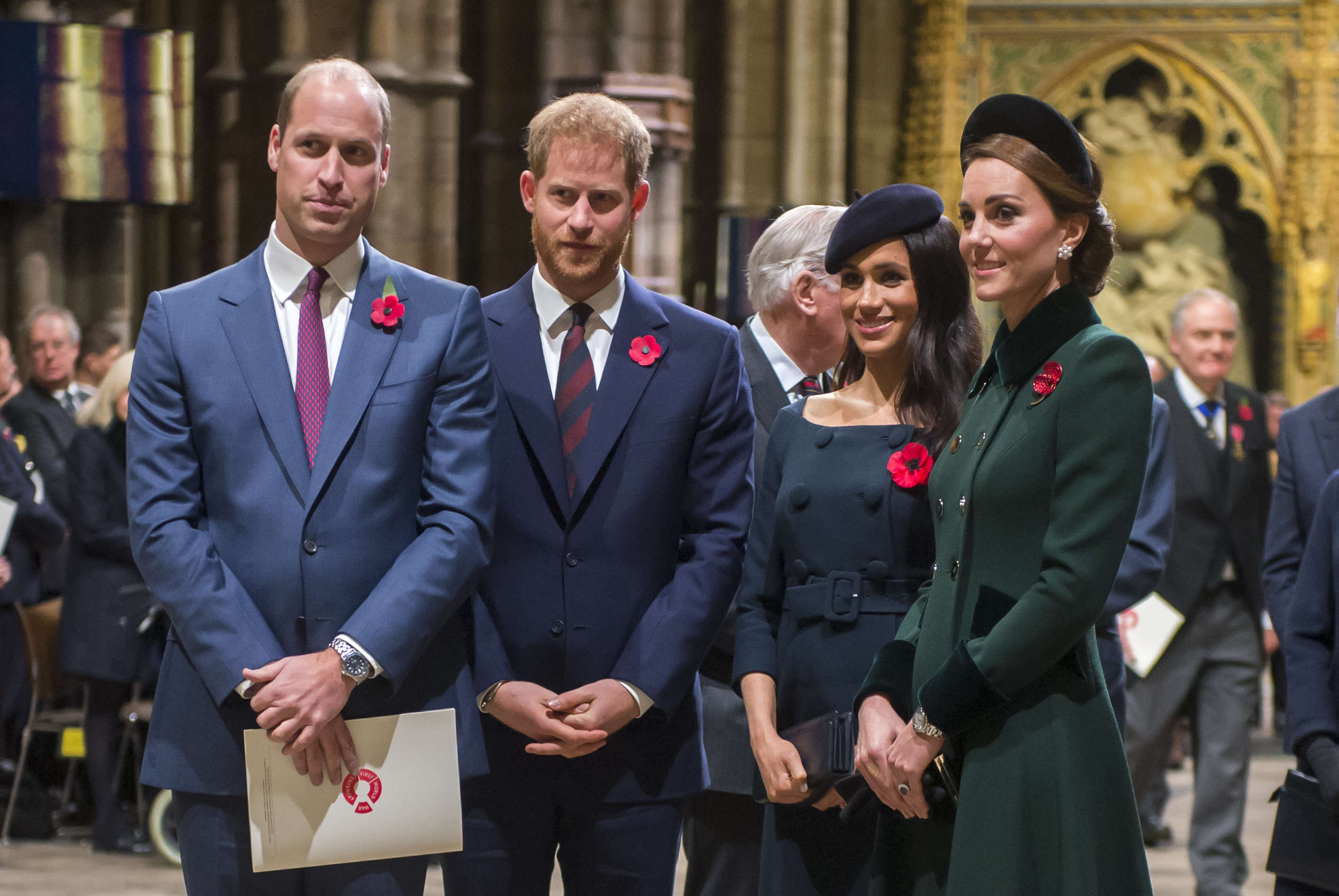 Prince William, Duke of Cambridge and Catherine, Duchess of Cambridge, Prince Harry, Duke of Sussex and Meghan, Duchess of Sussex 2018