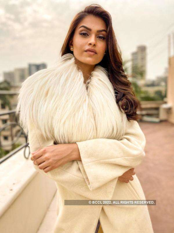 Suman Rao shows how to dress stylish this winter