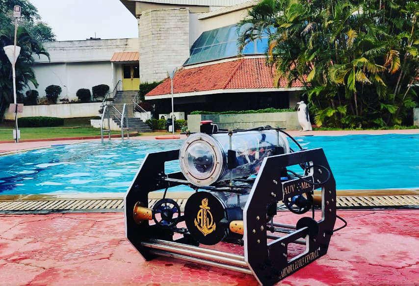 Hyderabad-based engineering college develops Autonomous Underwater Vehicle