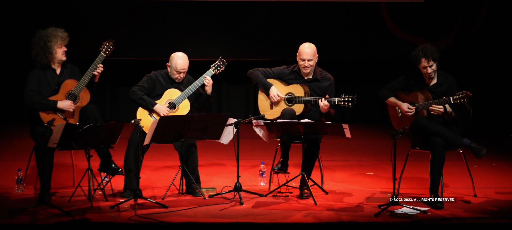 Kolkata celebrated the 10th edition of the Calcutta International Classical Guitar Festival