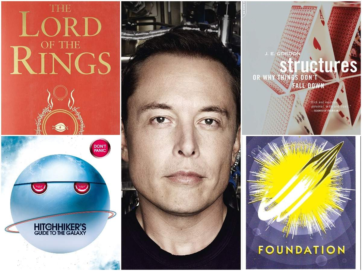 10 books that inspired Tesla CEO Elon Musk
