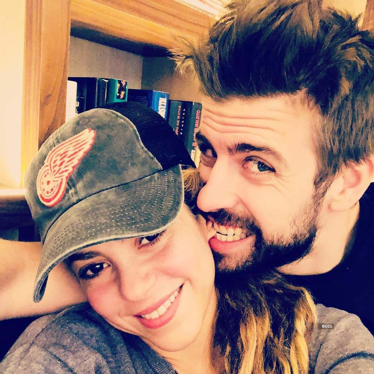 Intimate pictures of Shakira with longtime boyfriend footballer Gerard Pique