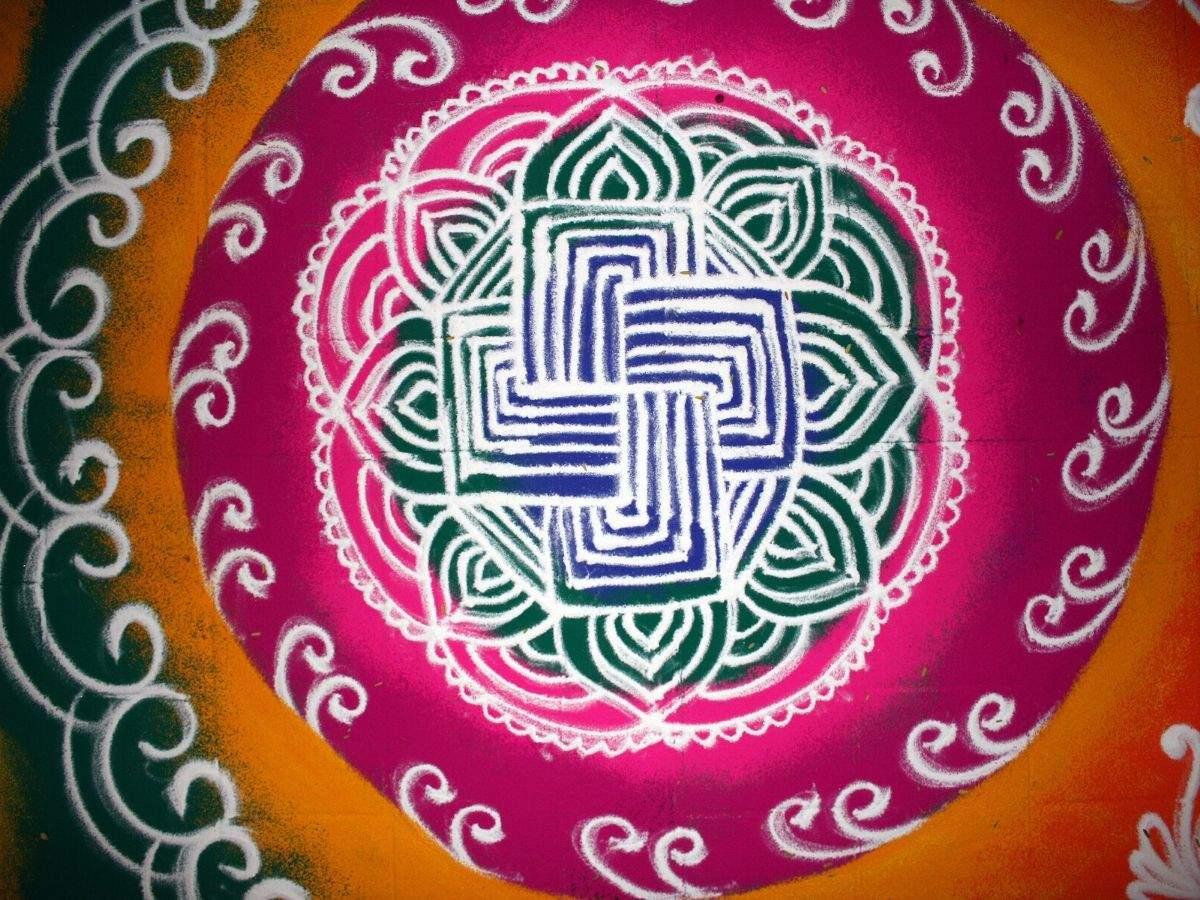 Happy Pongal 2020: Beautiful Pongal Kolam and Rangoli designs