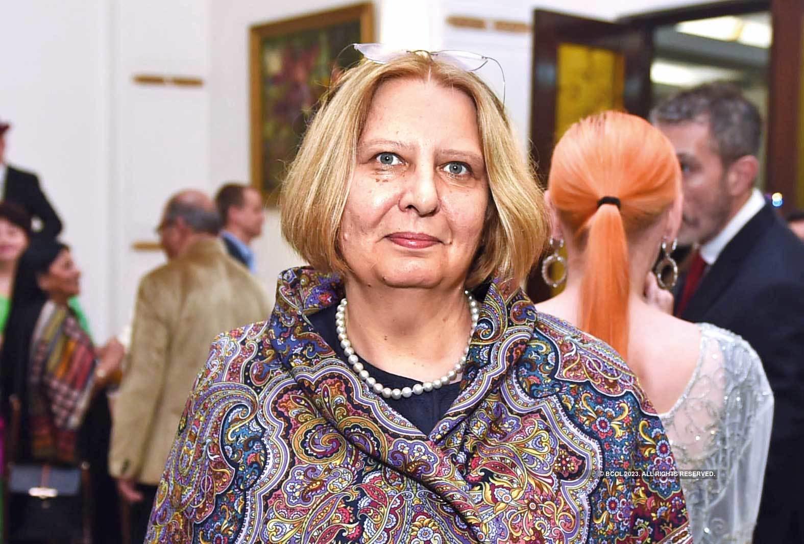 Elena M Kudasheva, the Russian  Ambassador's wife