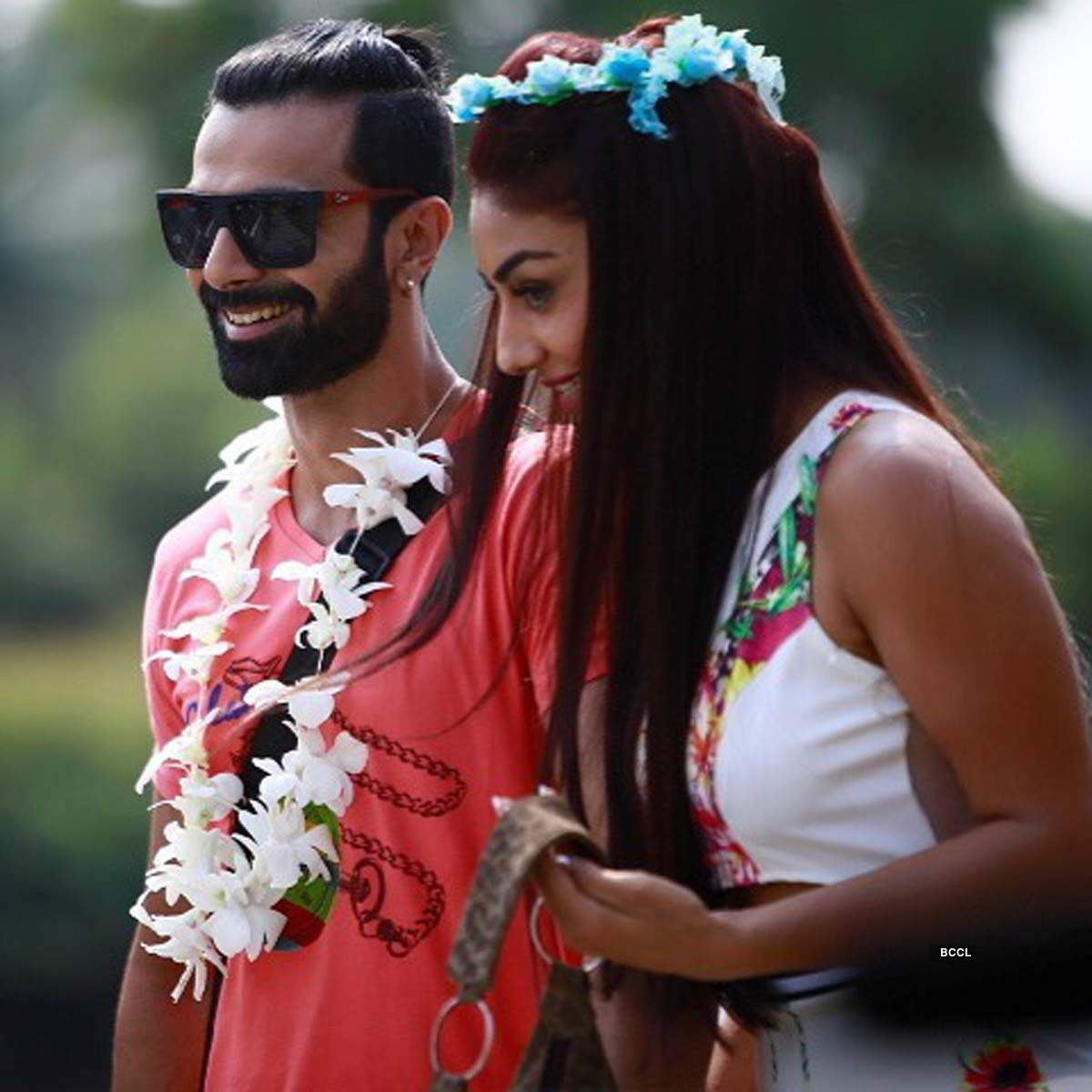 Pictures of Ashmit Patel and Mahekk Chahal before the couple ended their five-year-long relationship