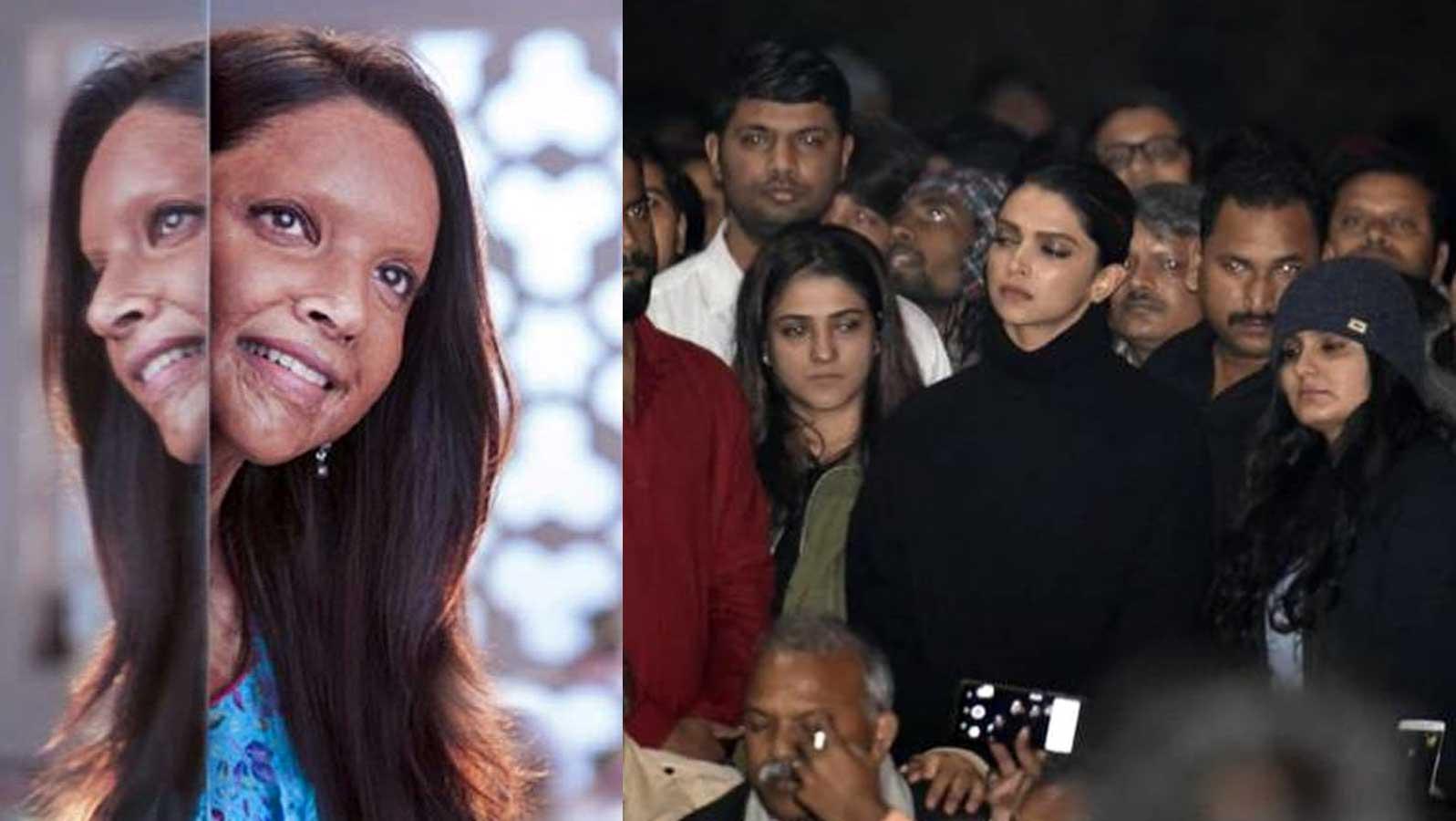 Fans suspect foul play as Deepika Padukone's 'Chhapaak's IMDb ratings fall to 4.4 stars