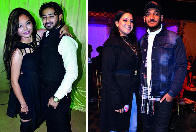 (L) Anushree Singh and Atul Singh (R) Ashmeet and Jaskirat Nijhawan (BCCL/ IB Singh)