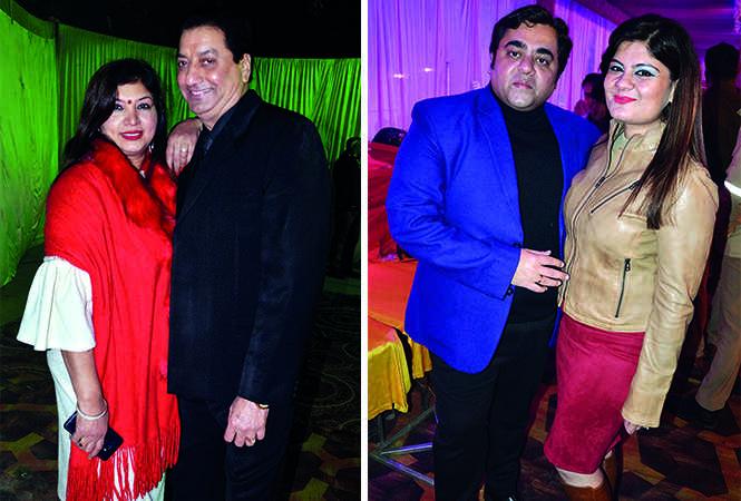 (L) Kanchan and Vijay Singh (R) Rahul and Rohini Thakur (BCCL/ IB Singh)