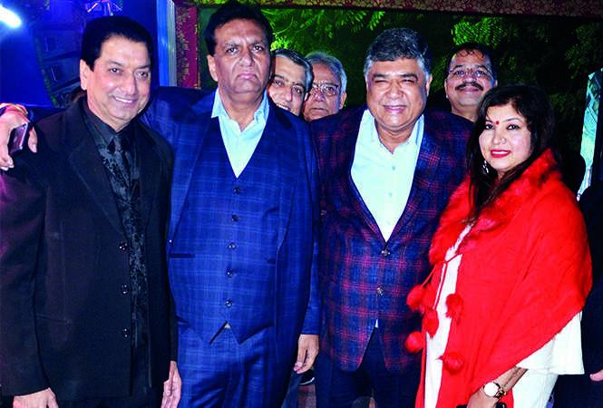 Vijay Singh, Rajiv Malhotra, Vijay Kapoor and Kanchan Singh (BCCL/ IB Singh)