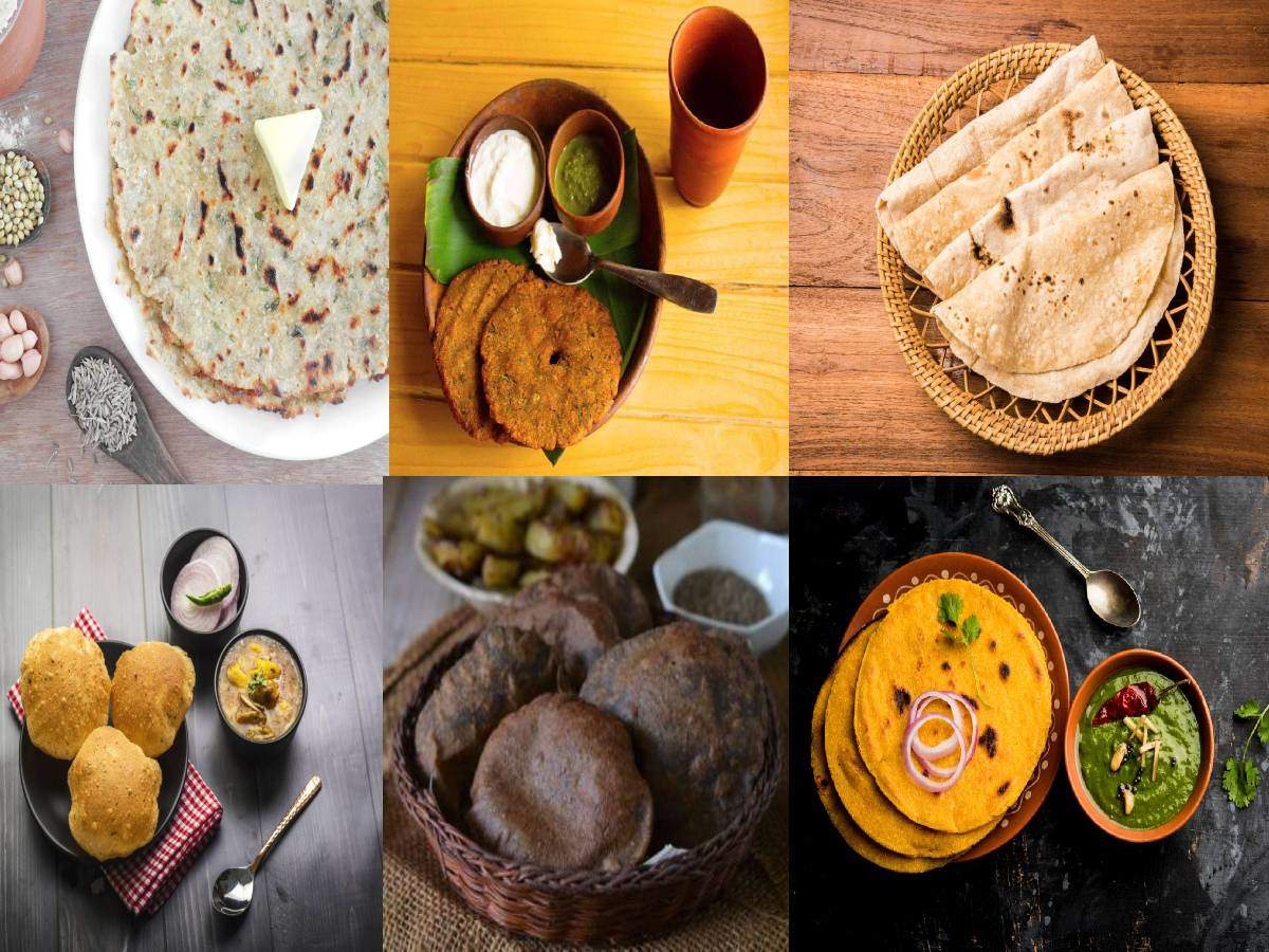 Different types of rotis made in India and why they are unique