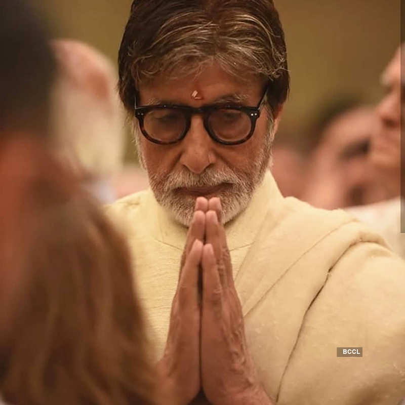 Abhishek Bachchan consoles teary-eyed Navya Nanda at her grandma Ritu Nanda's funeral