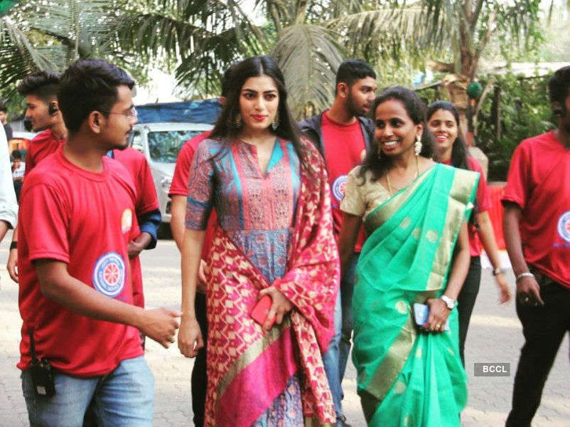 Naveli Deshmukh's visit as the ambassador of NSS